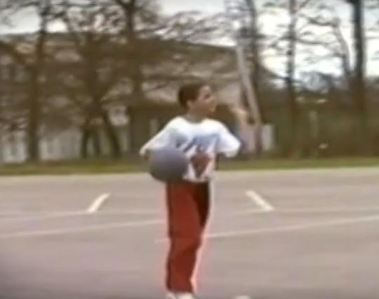 Tony Parker à 9 ans !