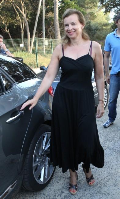 Valérie Trierweiler le 04 aout 2012