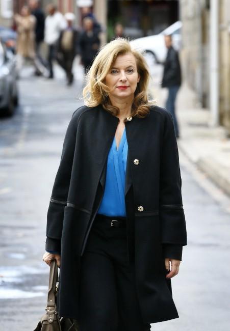 Valérie Trierweiler le 11 novembre 2012