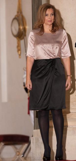 Valérie Trierweiler le 22 novembre 2012