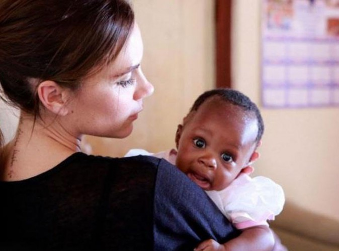 Victoria Beckham : elle fait tomber le masque et se r�v�le plus touchante que jamais en Afrique du Sud !