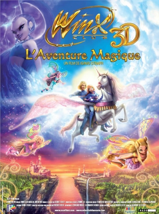 Winx Club, L'Aventure magique (3D)