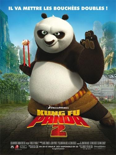 """Kung Fu Panda 2"" avec la voix d'Angelina Jolie..."