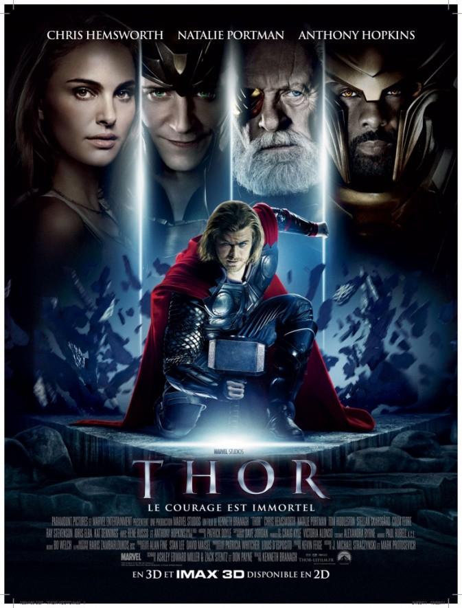 Thor 3D avec Natalie Portman et Chris Hemsworth