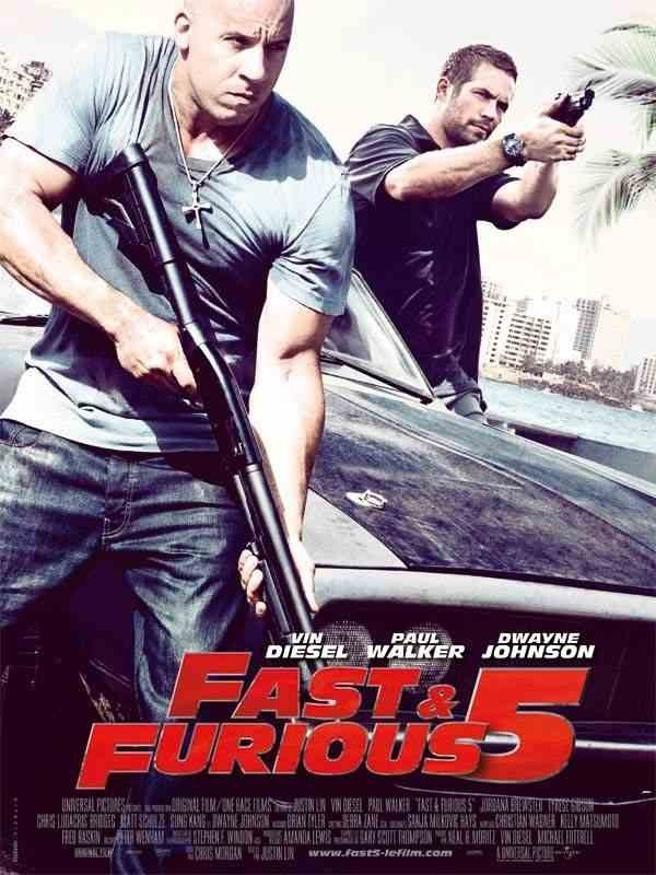 Fast And Furious 5 avec Vin Diesel et Paul Walker