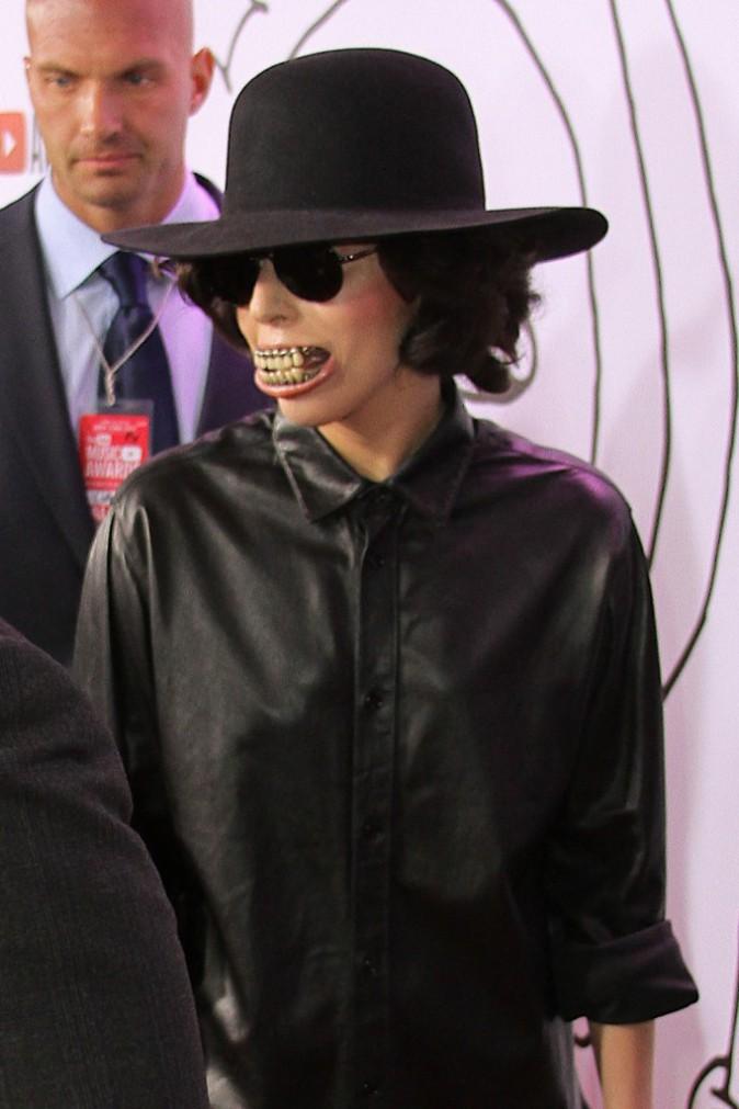 Lady Gaga à la cérémonie des Youtube Music Awards