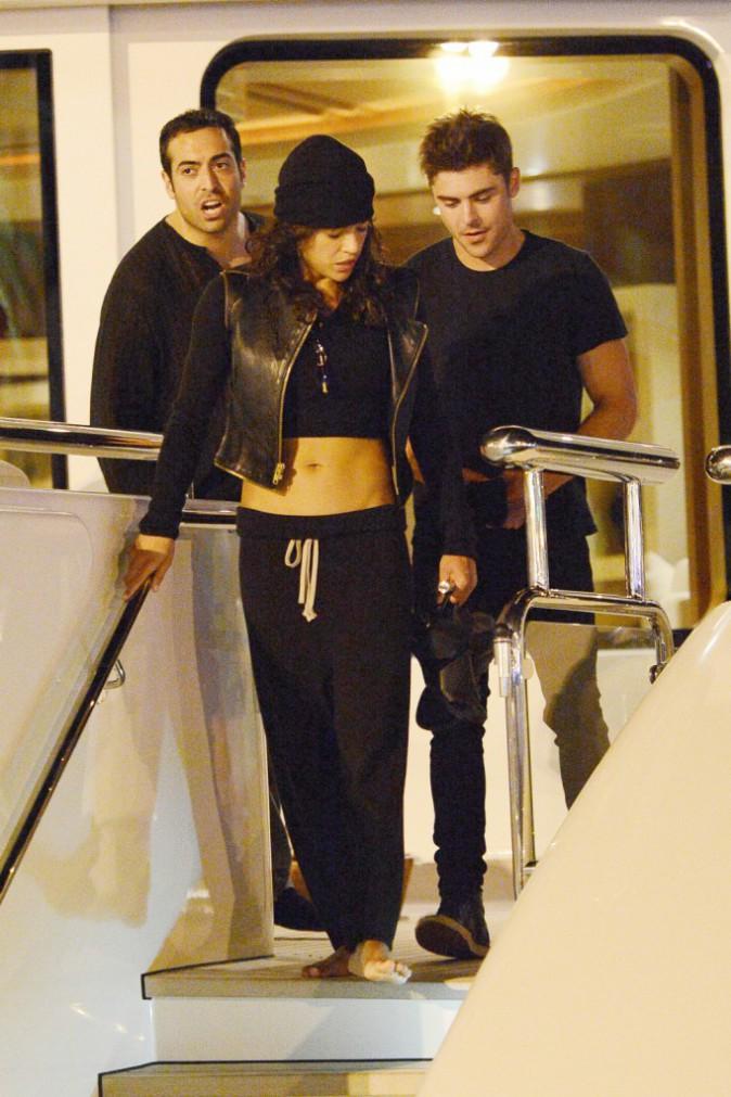 Zac Efron : De nouveau aperçu avec Michelle Rodriguez !
