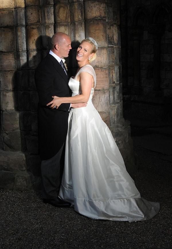 Les nouveaux mariés de la Couronne Britannique !