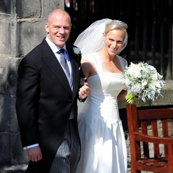 Mike Tindall et Zara Phillips étaient pourtant au top pour leur mariage !