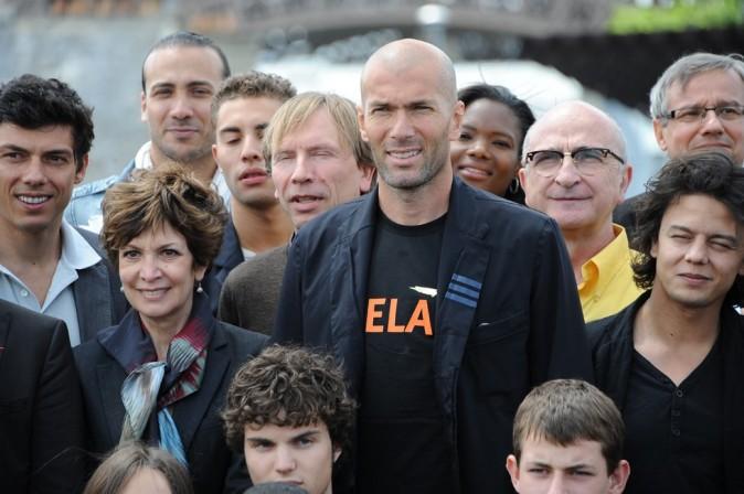 Zinedine Zidane toujours solidaire d'ELA !