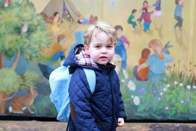 Prince George : il sera jardinier, espère son grand-père !