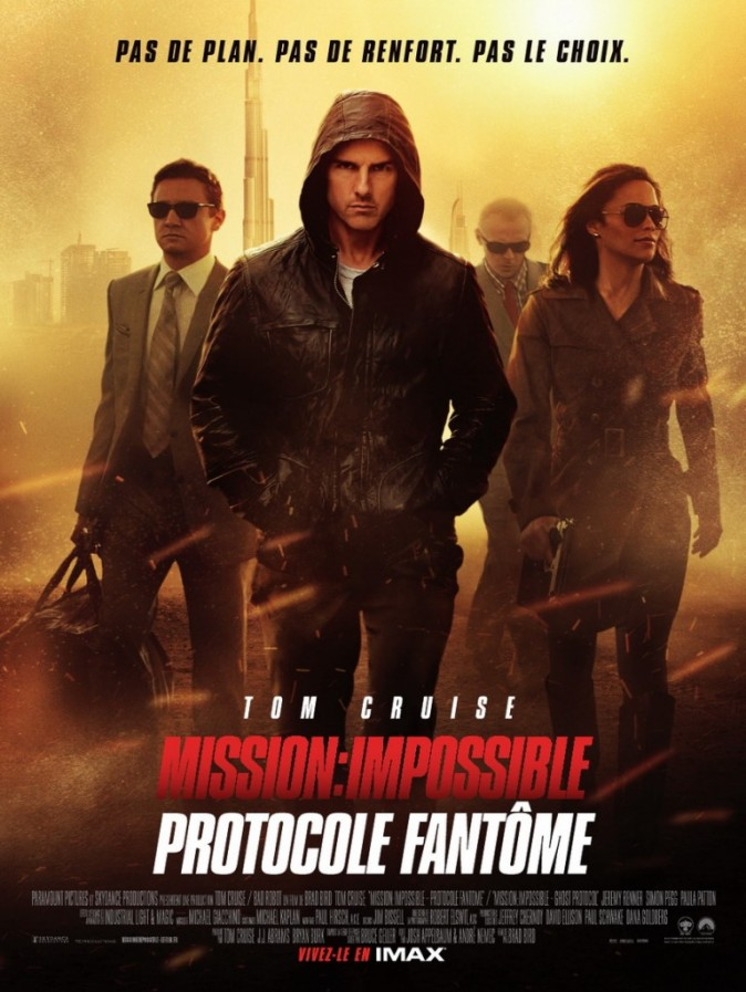 Mission Impossible Protocole Fantôme, 2nd film le plus piraté de 2012