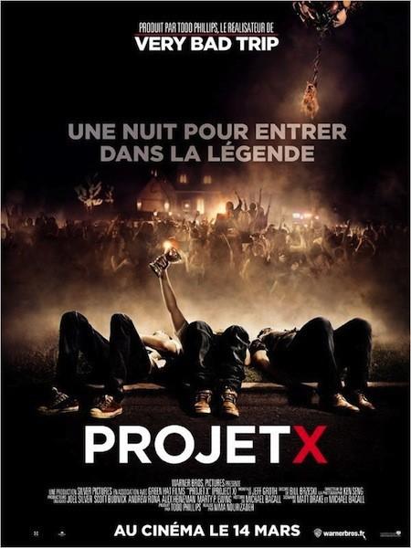 Projet X, 1er film le plus piraté de 2012