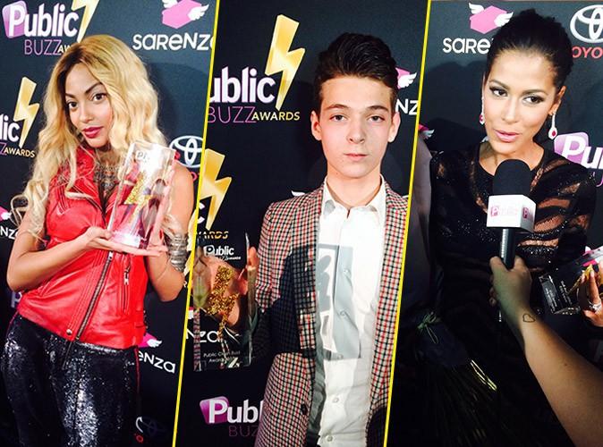 Public Buzz Awards : Tenny, Léonard Trierweiller, Ayem… Découvrez les grands gagnants de la soirée !
