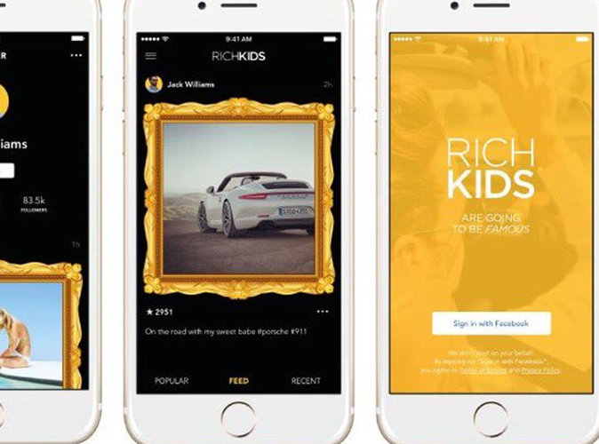 Public Buzz : Rich Kids : Le Instagram pour les jeunes riches