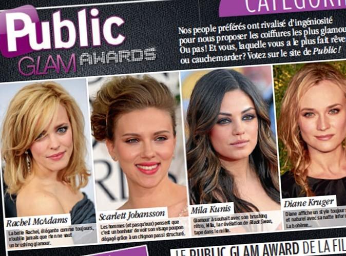 Public Glam Awards 2011 : demain, votez pour la plus belle et la pire coiffure !