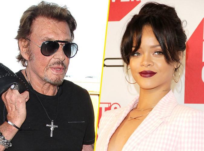 Quand Johnny Hallyday s'inspire de... Rihanna !