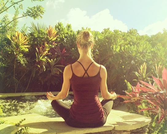 Reconnaissez-vous cette yoga-addict ?