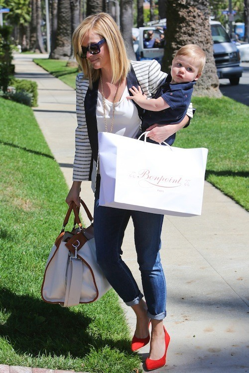Reese Witherspoon : une maman hyper lookée assortie à son fils Tennessee