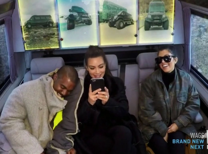 "Résumé de ""Keeping Up With The Kardashians"", Saison 12 : Kanye, Kim et Kourtney en Islande"