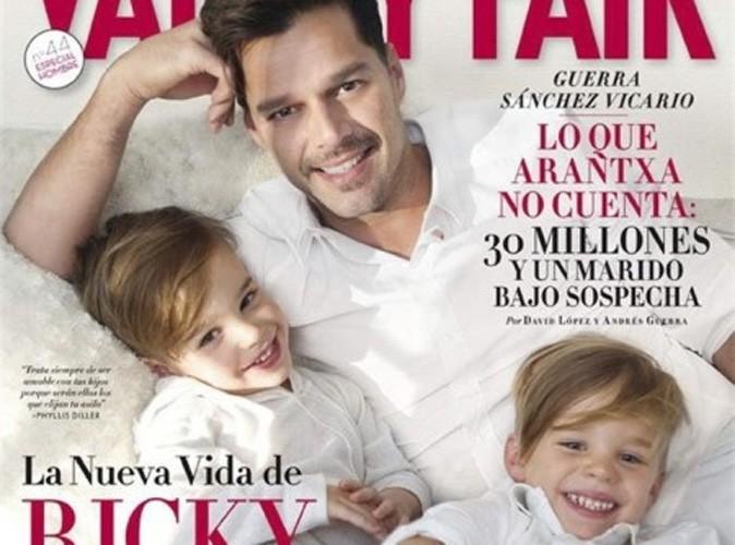 """Ricky Martin : """"je n'ai pas louer un utérus pour avoir mes jumeaux !"""""""