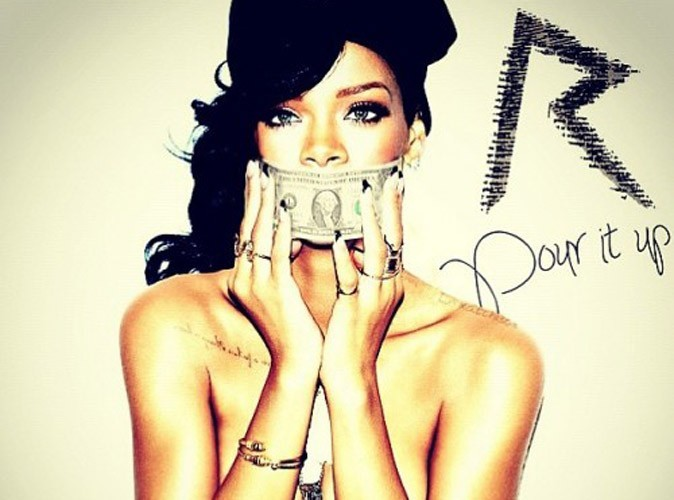 "Rihanna : découvrez le remix du single ""Pour It Up"" en featuring avec Young Jeezy, Rick Ross, Juicy J et T.I. !"