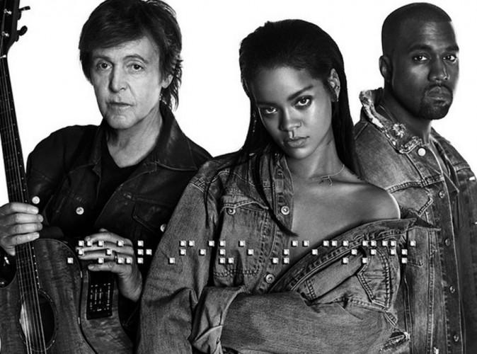 Rihanna : écoutez son nouveau tube Four Five Seconds, en duo avec Kanye West !