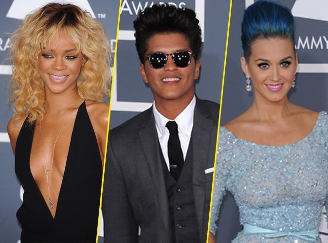 Rihanna : elle a fêté son anniversaire avec Bruno Mars et Katy Perry !