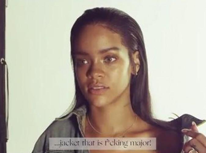 """Rihanna : elle a piqué la veste en jean de Kanye West pour le clip de """"FourFiveSeconds"""" !"""