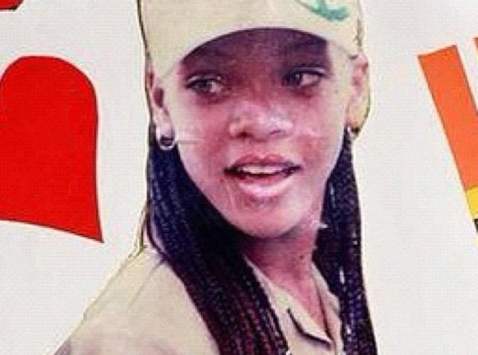 Rihanna : elle ressort une photo d'elle quand elle avait 13 ans !