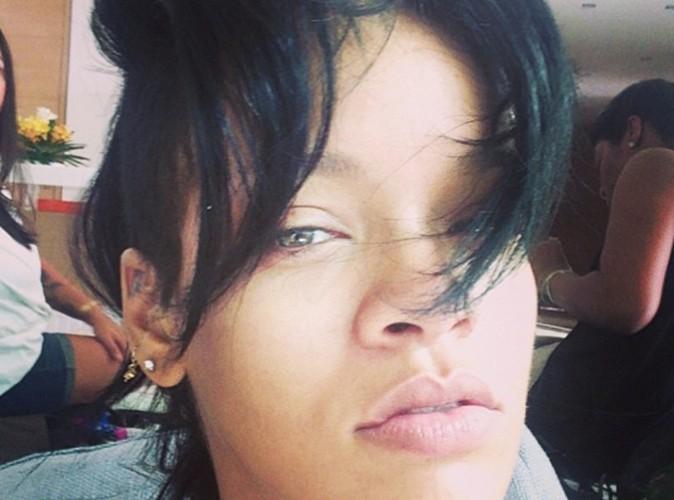 Rihanna : elle s'affiche sans make-up !
