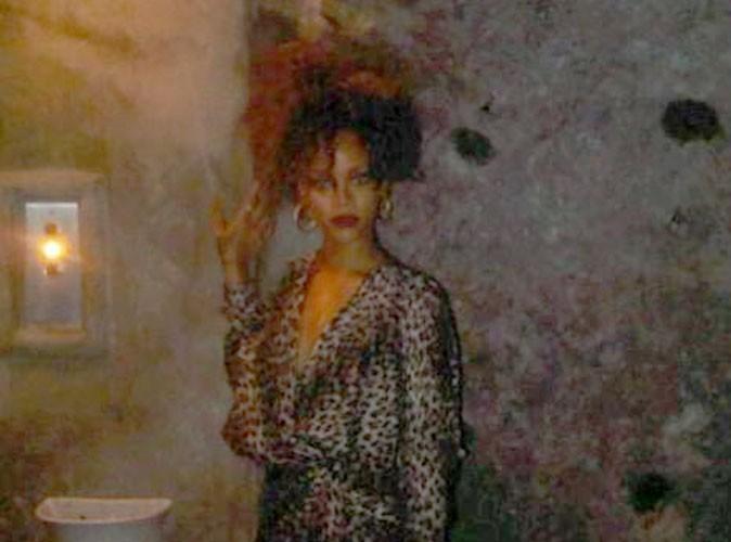 Rihanna : elle sort son look de tigresse à Capri !