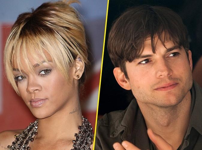 Rihanna et Ashton Kutcher : en couple depuis des mois ?!