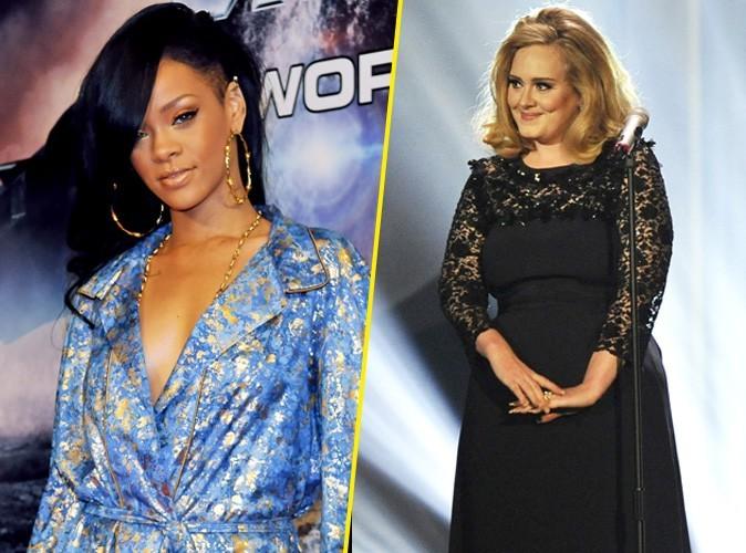 Rihanna : gare à celui qui osera critiquer Adele !