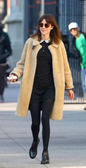 Les frileuses : Alexa Chung à New York !