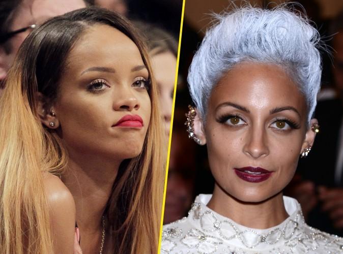 """Rihanna : """"Nicole Richie, cette sal*** me donne envie de vomir !"""""""