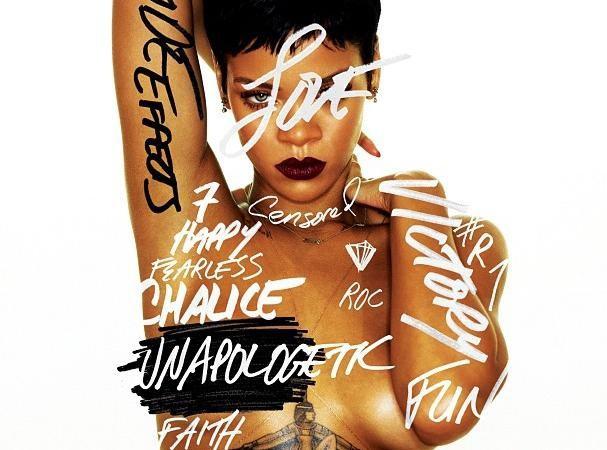 """Rihanna : nue et plus sexy que jamais sur la pochette de son nouvel opus """"Unapologetic"""" !"""