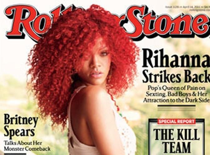 Rihanna ose le short ultra-découpé en couv' de Rolling Stone !