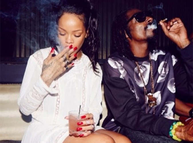 Rihanna : petite pause fumette avec Snoop Dogg à Punta Cana !