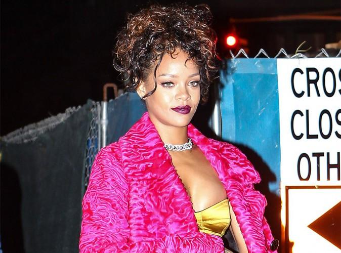 Rihanna : ses photos nues vol�es, partout sur la toile !