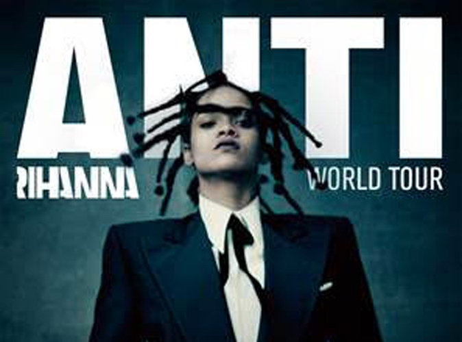 Rihanna : son Anti World Tour débarque en France le…