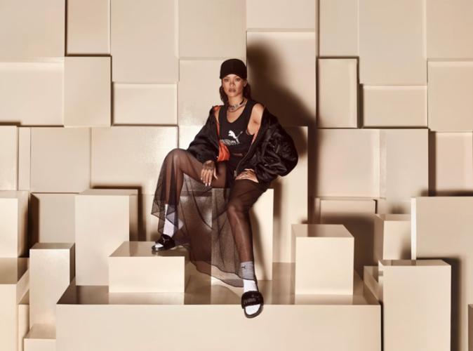Rihanna : Une nouvelle collection Puma qui laisse songeur...