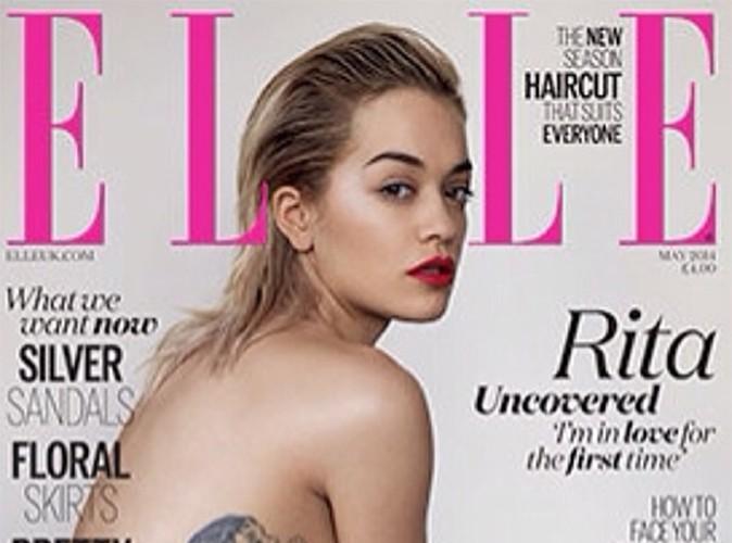 Rita Ora : une cover girl topless so sexy !