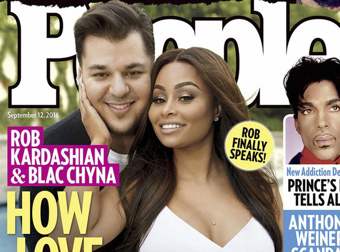 """Rob Kardashian à propos de Blac Chyna : """"Elle m'a aidé à surmonter mes démons intérieurs"""""""