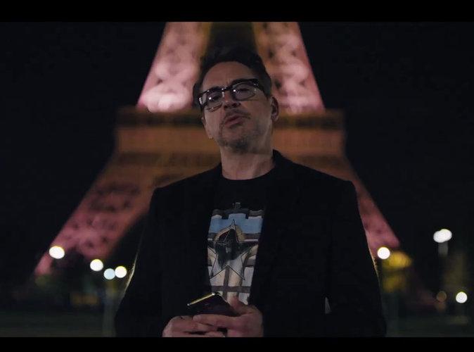 Robert Downey Jr : quand Iron Man joue avec la Tour Eiffel, c'est hallucinant !
