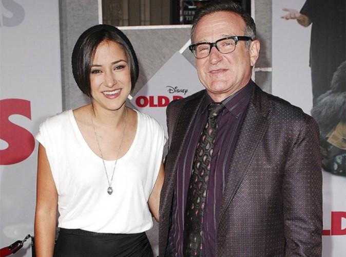 Robin Williams : après avoir reçu d'affreux messages, sa fille Zelda se retire de Twitter !