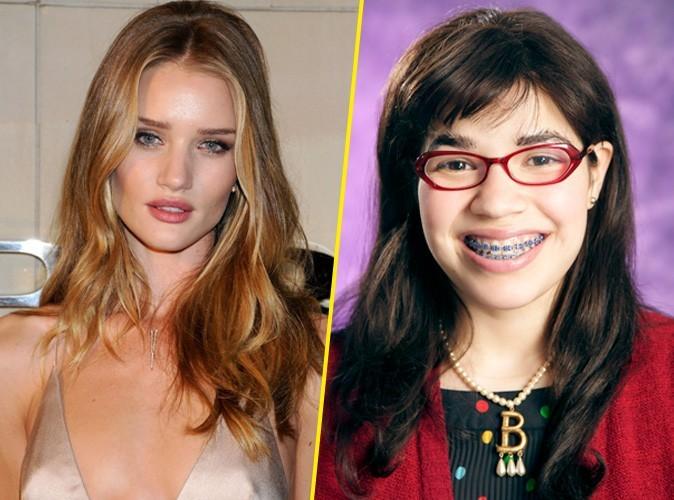"""Rosie Huntington-Whiteley : """"Avant, j'avais l'habitude de ressembler à Ugly Betty !"""""""