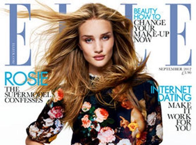 Rosie Huntington-Whiteley : la cover-girl captivante de l'édition de septembre du magazine ELLE !