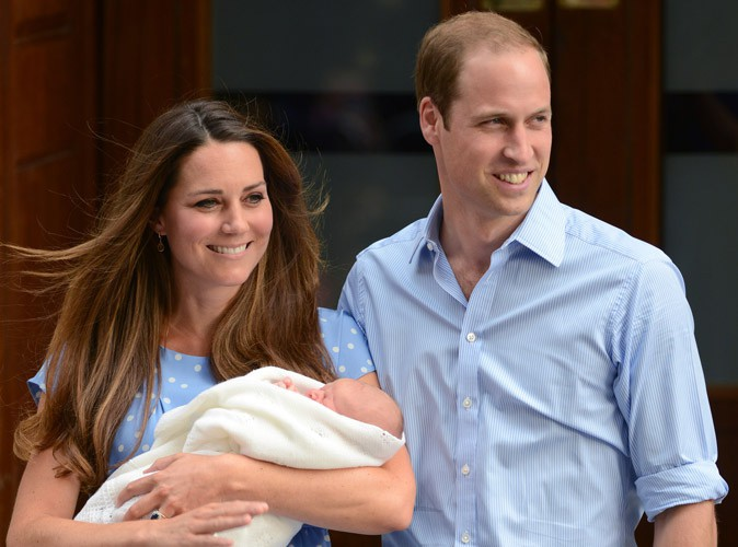 Royal Baby : le prénom du fils de Kate Middleton et du prince William enfin dévoilé ! Et le futur roi s'appelle...