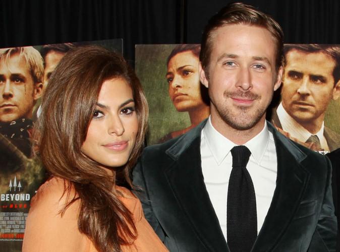 Ryan Gosling et Eva Mendes : ils pr�voient de se marier apr�s la naissance du b�b� !